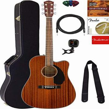 Fender CD-60SCE Dreadnought Acoustic-Electric Guitar -