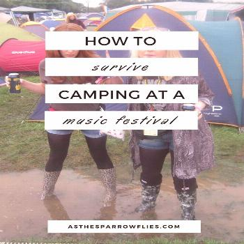 How to survive music festivals – getting the festival essentials right -  - camping fashion -  Ho