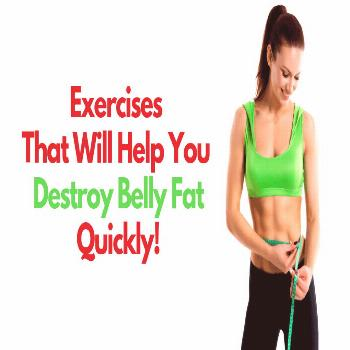 If you're a male or female looking for weight lifting exercises to lose belly fat, you're at the ri